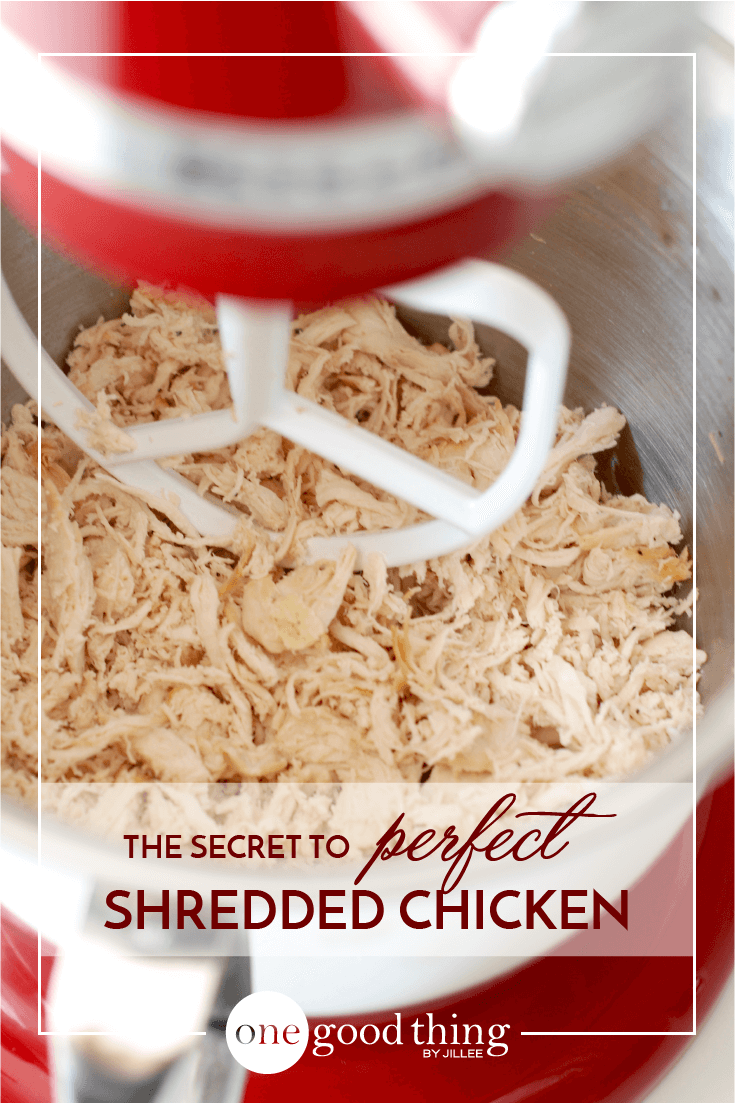 How To Shred Chicken In Seconds