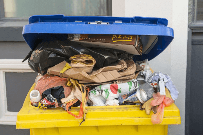 How To Clean Those Smelly Outdoor Trash Cans