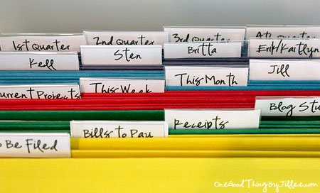 controlling paper clutter