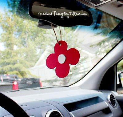 homemade car air freshener