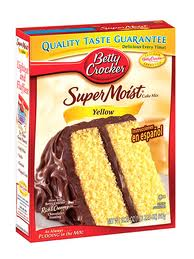 Angel Food And White Boxed Cake Mix Substitute