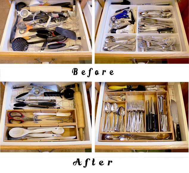 how to organize kitchen drawers how to organize drawers in the kitchen 7299