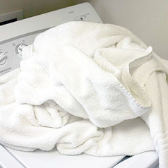 cleaning smelly towels