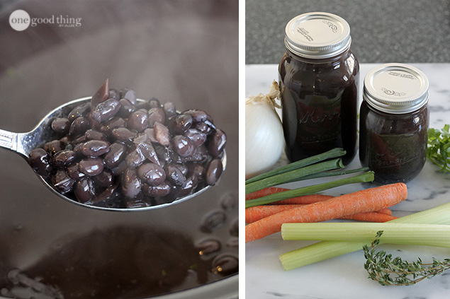 Canned Beans and Broth