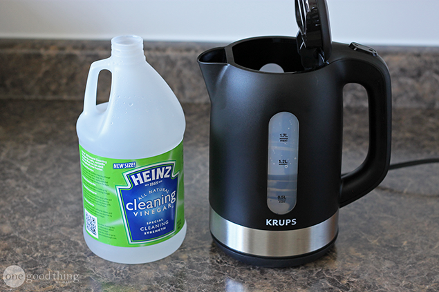 Cleaning Electric Kettles