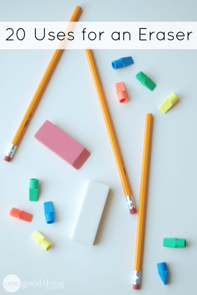 20 Uses for an Eraser