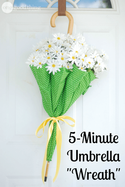 "5-Minute Umbrella ""Wreath"""