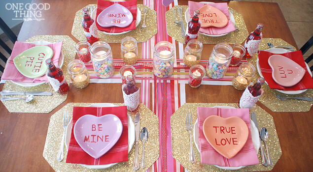 A valentine 39 s day dinner for the whole family one good for Good valentines day meal ideas