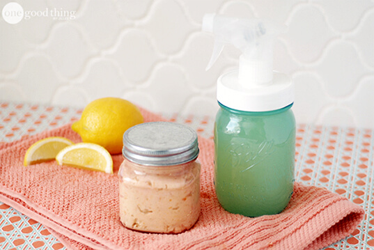 Homemade Citrus Enzyme Cleaner and Scrub