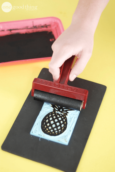 Make your own stamps for beautiful block printed crafts · jillee