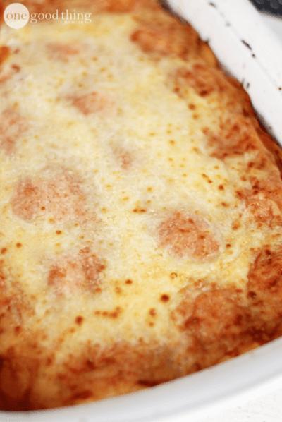 Easy, Cheesy Lasagna In Minutes!