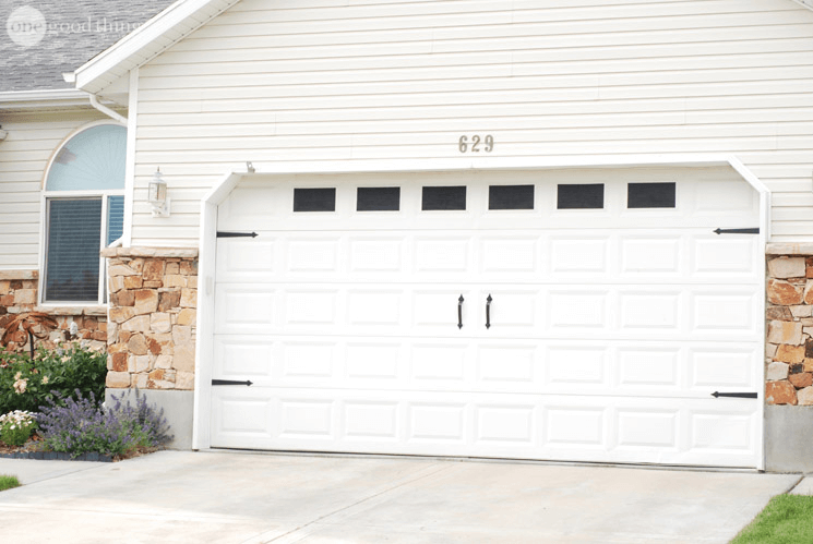 Garage Door Makeover