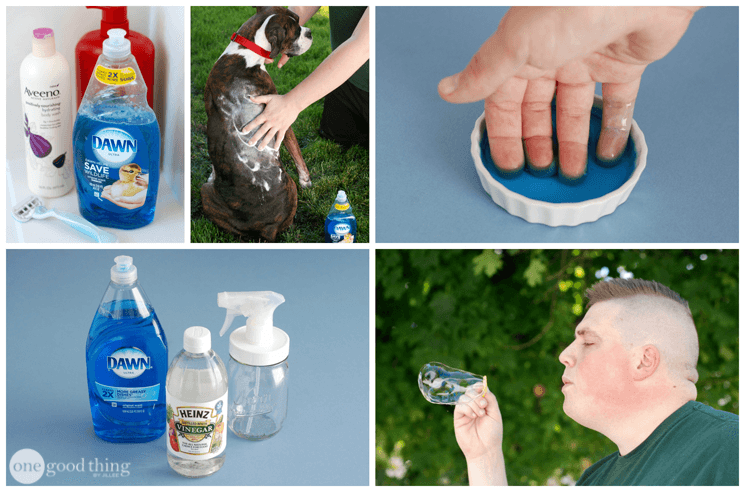 28 Ways To Use Dawn Dish Soap That Will Make Your Life Easier · Jillee