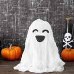 Make A Floating Cheesecloth Ghost