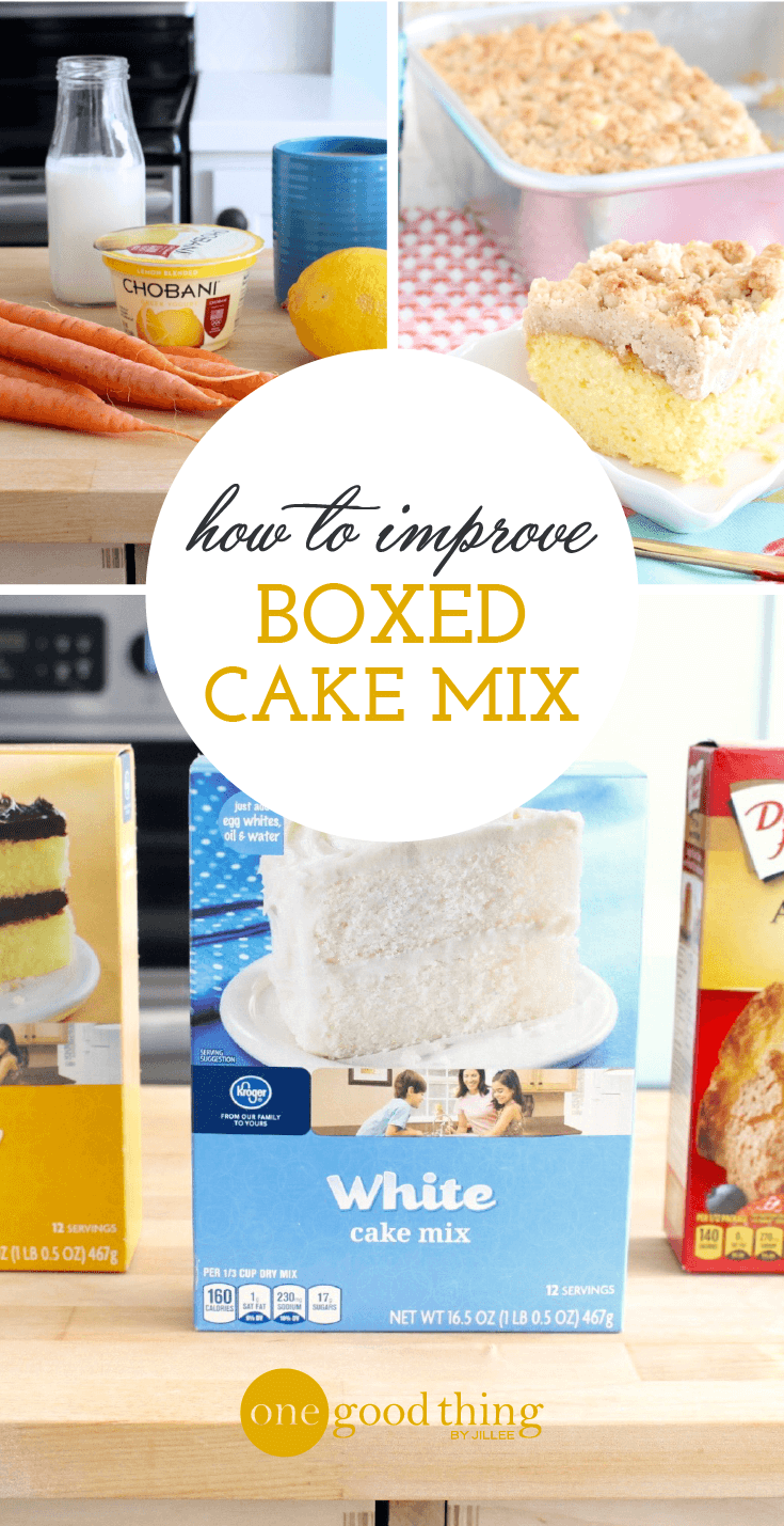 Boxed Cake Mix Hacks