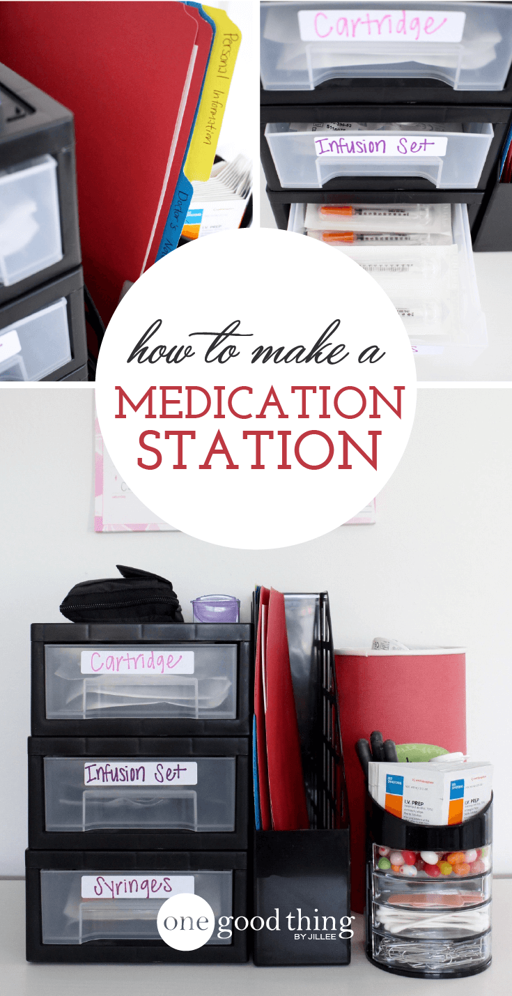 Make Your Own Medication Station