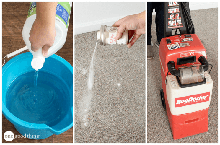 How to make a natural carpet cleaning solution one good thing by how to make a natural carpet cleaning solution solutioingenieria Gallery