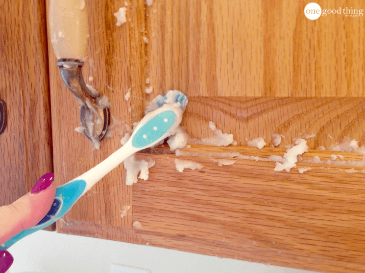 How To Clean Stained Wood Kitchen Cabinets