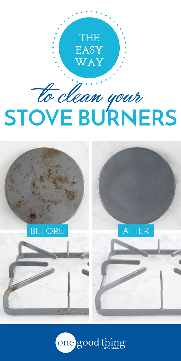 Cleaning Stove Burners