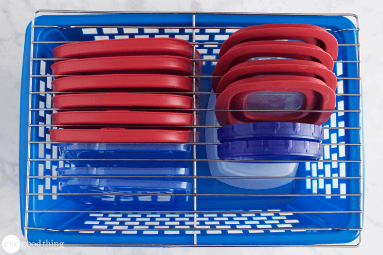 Storing Plastic Containers