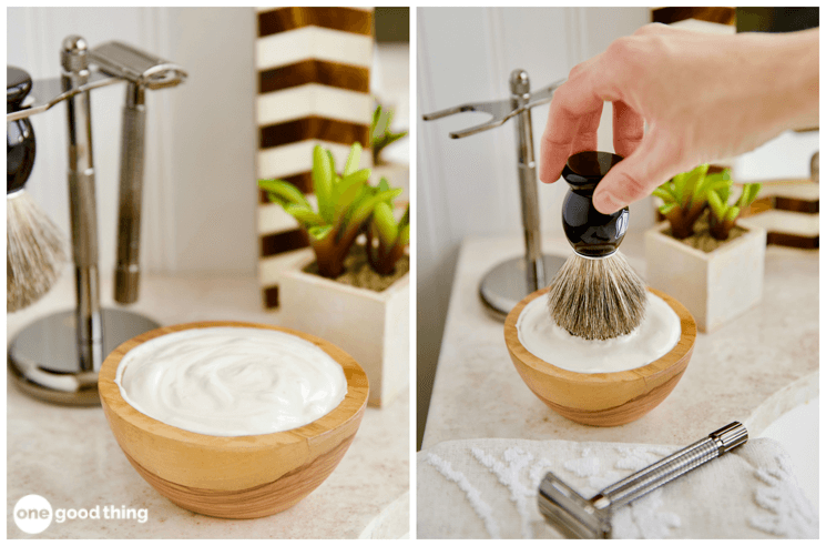 Homemade Shaving Cream