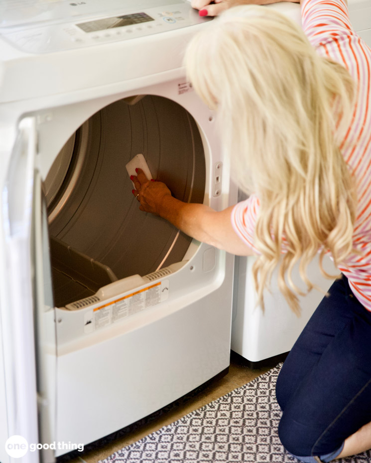 cleaning your dryer drum